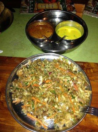 Down Town Rotti Hut:                   Khottu rotti with beef