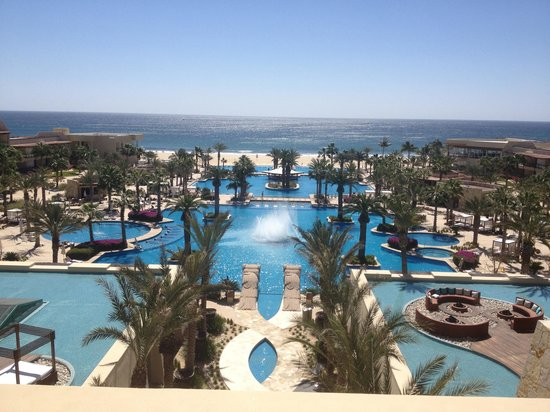 The Grand Mayan Los Cabos:                   View from the 5th floor