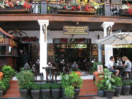 Luang Prabang Bakery Guesthouse: entrée