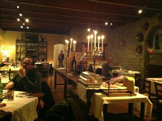 Locanda del Molino:                   cena