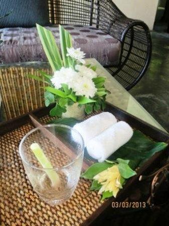 Anantara Rasananda Koh Phangan Villas:                   Welcome Drink                 