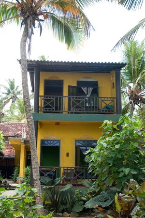Praneeth Guest House, Mirissa :                   Balkon-u. Terassenzimmer