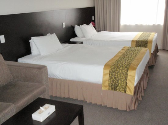 Auckland City Hotel-Hobson St: chambre