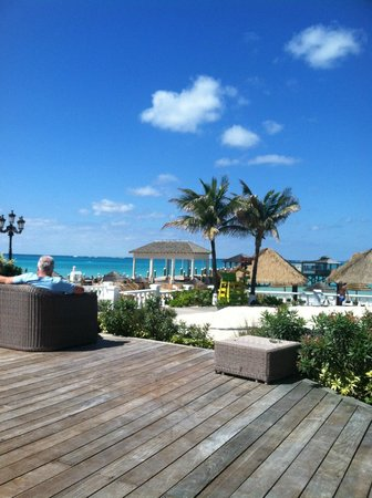 Sandals Royal Bahamian Spa Resort & Offshore Island:                   view from sun deck