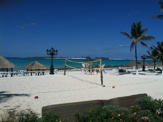 Sandals Royal Bahamian Spa Resort & Offshore Island:                   beach volleyball