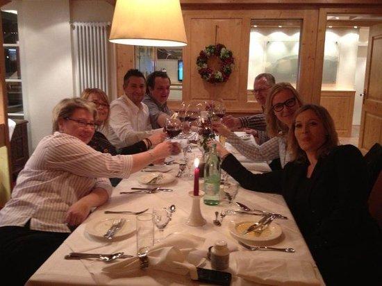Riezler Hof Restaurant:                   Anstoßen auf den Abend