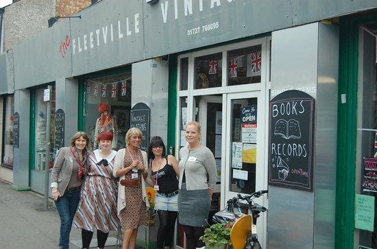 Saint Albans, UK: fleetville vintage emporium