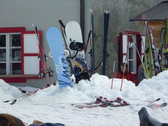 Schutzhutte Schone Aussicht / Rifugio Bella Vista: Esterno rifugio