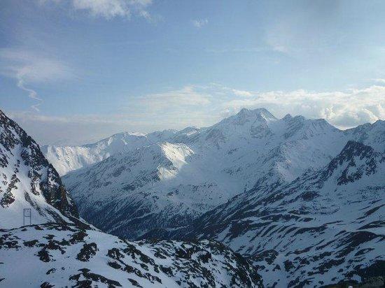 Schutzhutte Schone Aussicht / Rifugio Bella Vista: Panorama mozzafiato