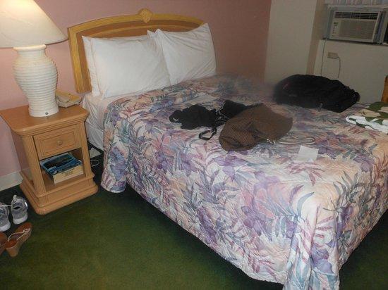 Hawaiian Monarch Hotel:                   Bed