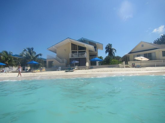 Cayman Reef Resort:                   Unit #21 Behind Large Umbrella