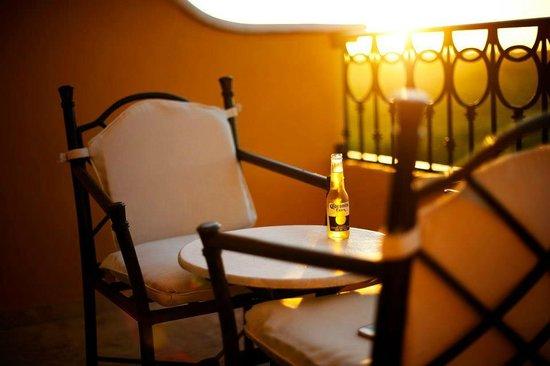 Secrets Capri Riviera Cancun:                   Balcony in room