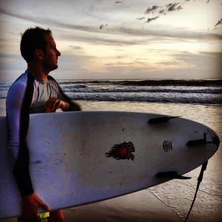 Mal Pais Surf Camp & Resort:                   The Beach