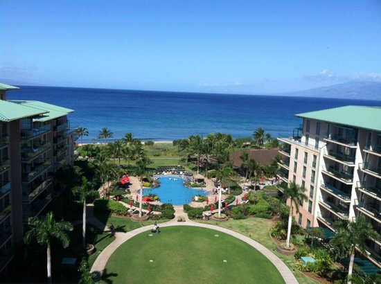 Honua Kai Resort & Spa:                   Our gorgeous view from our balcony!