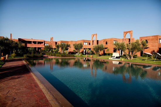 Les Jardins de Zyriab Resort & Spa: piscine et jardin