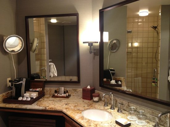 Fairmont Scottsdale Princess:                   bathroom vanity