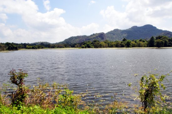 The Paradise Resort and Spa:                   lake near to the resort