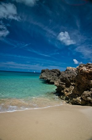 Four Seasons Resort and Residences Anguilla:                   down behind the main pool