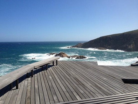 Oubaai Hotel Golf & Spa:                   Whale watching deck