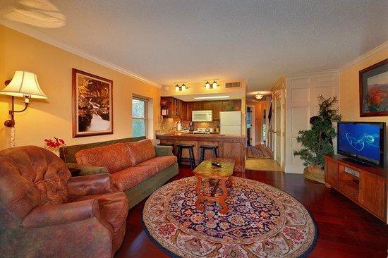 The Highlands Condominium: Living Room View