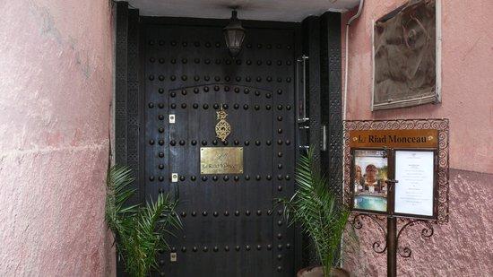 Le Riad Monceau: Porte d'entrée du Rriad Monceau