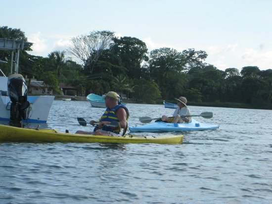 Cabinas Tropicales:                   Kayak rentals and tours in available Puerto Jimenez