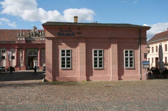 Restaurant Waage: Historisches Haus
