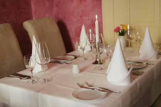 Restaurant Waage: Roter Salon