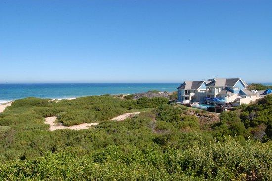 Moya Manzi Beach House:                   Lage des Guesthouses