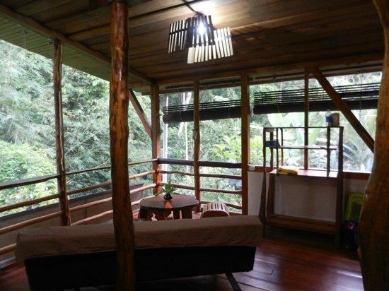 Omega Tours Eco Jungle Lodge:                                     Cabin