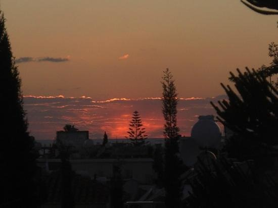 Apollonia Holiday Apartments:                   Sunset