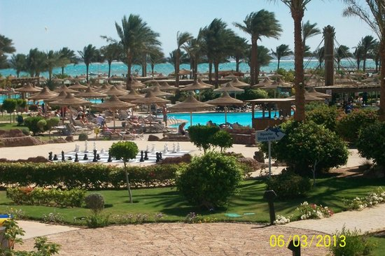 Coral Sea Waterworld Resort:                                     view from balcony