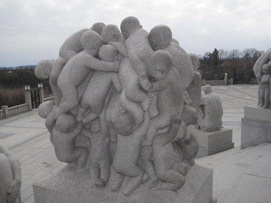 Vigeland Museum:                                     Children