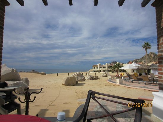 Solmar Resort:                   view of the beach