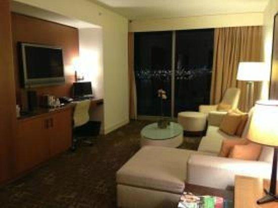 Kimpton EPIC Hotel:                   Living Room in Suite