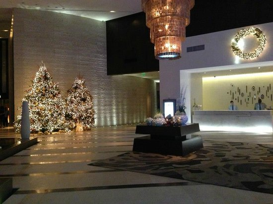EPIC Hotel - a Kimpton Hotel :                   Hotel Lobby during the Holidays