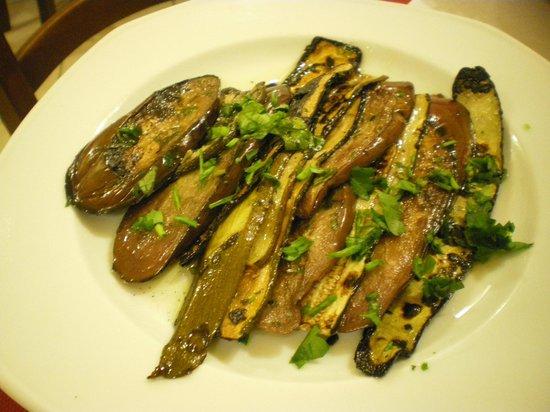 Nu Murzill Sapurito: verdure miste alla griglia