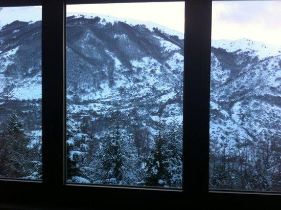 Hotel Residence Tuttosport:                   veduta dalla nostra finestra