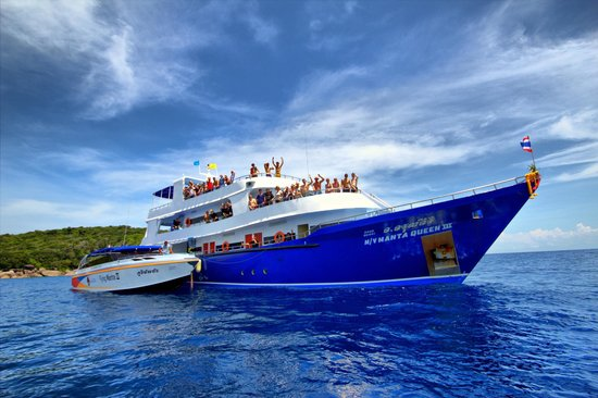 Dive into Thailand's Underwater Beauty with Manta Queen Liveaboard Khaolak Scuba Adventure