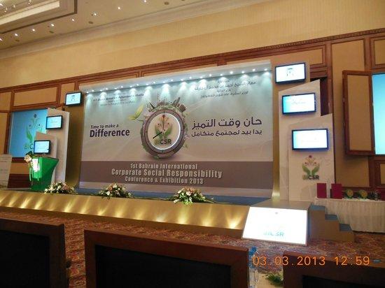 Gulf Hotel Bahrain:                   BICSR Conference Room