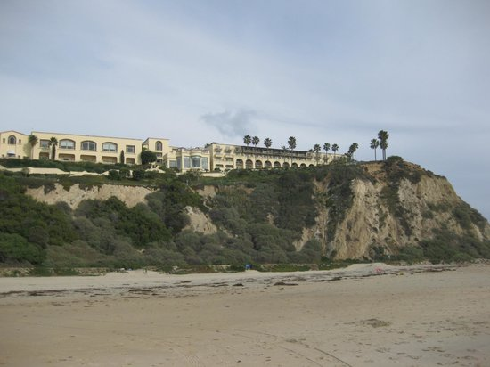 The Ritz-Carlton, Laguna Niguel:                   View of The Ritz-Carlton Laguna Niguel from the beach