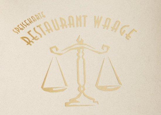 Restaurant Waage: Logo