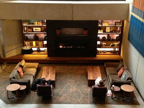 Grand Hyatt San Francisco:                                     Hotel lobby seating area
