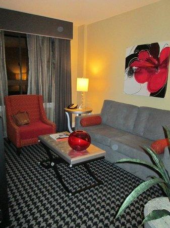 Wyndham Canterbury at San Francisco: Living Area