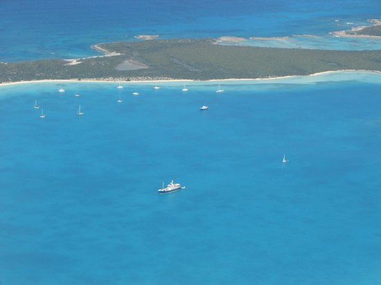 Crooked Island:                                     Exuma from the air