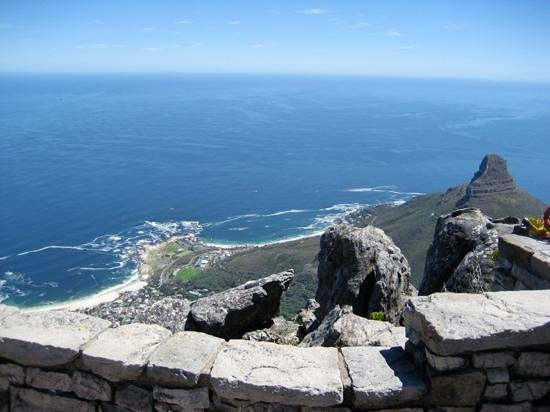 Table Mountain National Park, Sudáfrica:                   one of the many views
