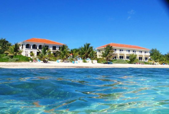 Bodden Town, Grand Cayman:                   Sea View of Turtle Nest Inn & Condominiums
