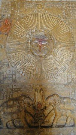 Salim Singh-ki Haveli:                   Sun God