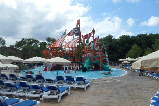 Invisa Hotel Club Cala Verde :                                     Pirate Ship water park