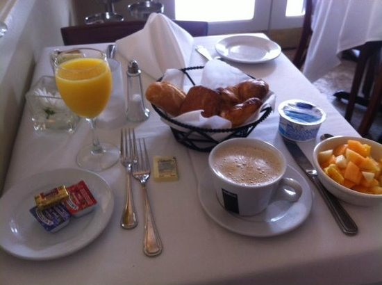 Impala Hotel:                   Continental Breakfast is $10.